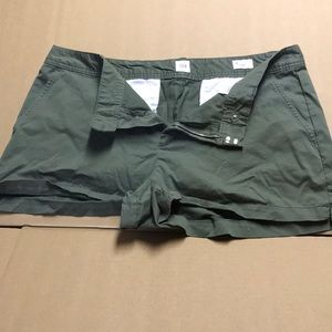 Army Green short shorts